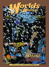 Exclusive Worlds of Westfield Cover by Oeming & Wheatley