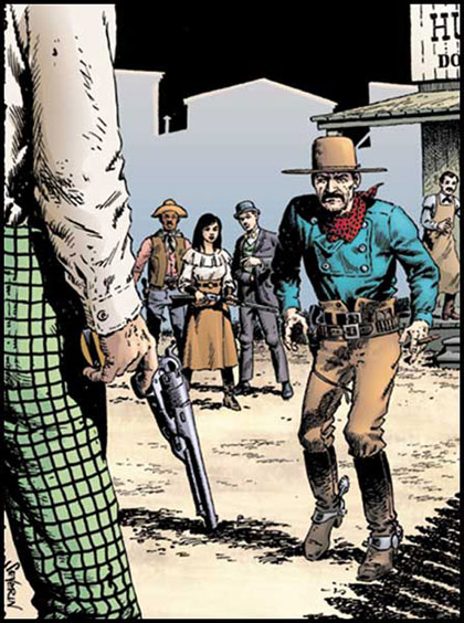 Image: Desperadoes: Quiet of the Grave #1 - DC Comics