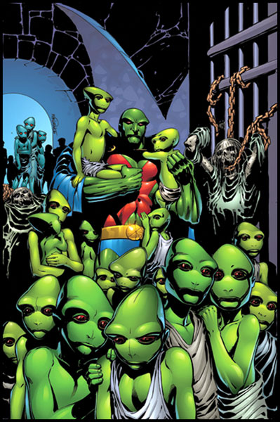 Image: Martian Manhunter #34 - DC Comics