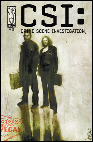 Image: C.S.I.: Crime Scene Investigation #3 - IDW Publishing