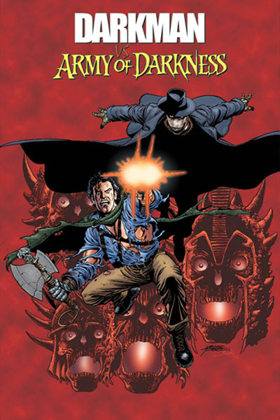 Image: Darkman vs. The Army of Darkness SC  (regular cover) - D. E.