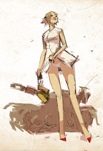 Image: Tank Girl: The Gifting #2 - IDW