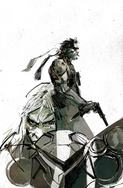 Image metal gear solid sons of liberty 9 idw