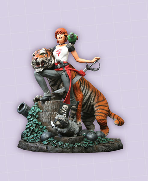 Image: Fables Statue: Shere Khan & Rose Red  -