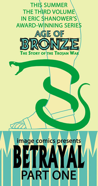 Image: Age of Bronze Vol. 3A: Betrayal Part One HC  - Image Comics