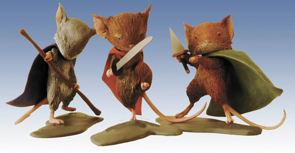 Image: Mouse Guard PVC Set  - Archaia Studios Press
