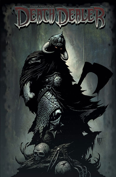 Image: Frank Frazetta's Death Dealer #5 (Nat Jones Cover) - Image Comics
