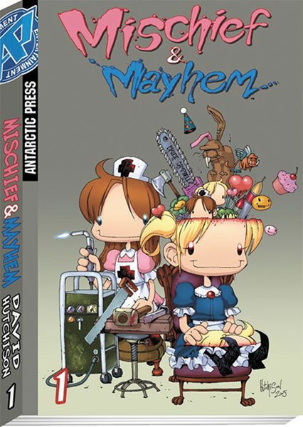 Image: Mischief & Mayhem Pocket Manga Vol. 1  - Antarctic Press