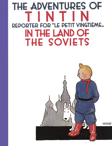 Image: Adventures of Tintin in the Land of the Soviets SC  - Little Brown and Company