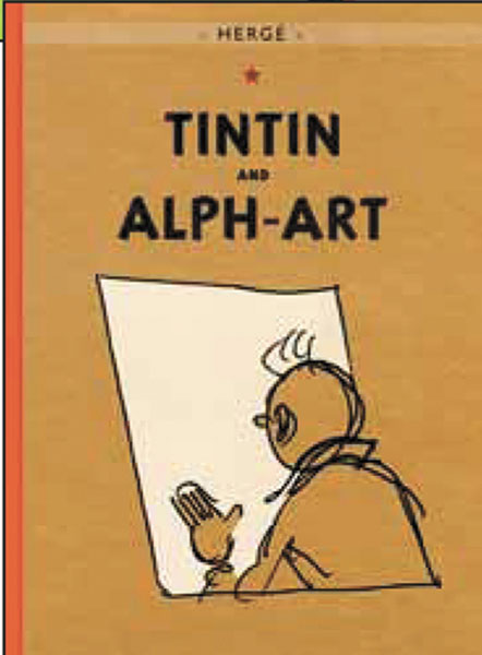 Image: Tintin and Alph-Art SC  - Little Brown and Company