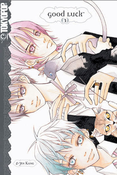 Image: Good Luck Vol. 03 GN  - Tokyopop