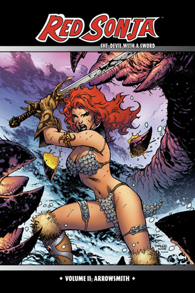 Image: Red Sonja: She-Devil With a Sword Vol. 2  (Jim Lee cover) SC - D. E.