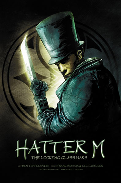 Image: Hatter M: The Looking Glass Wars Vol. 1 HC  - Desperado Publishing