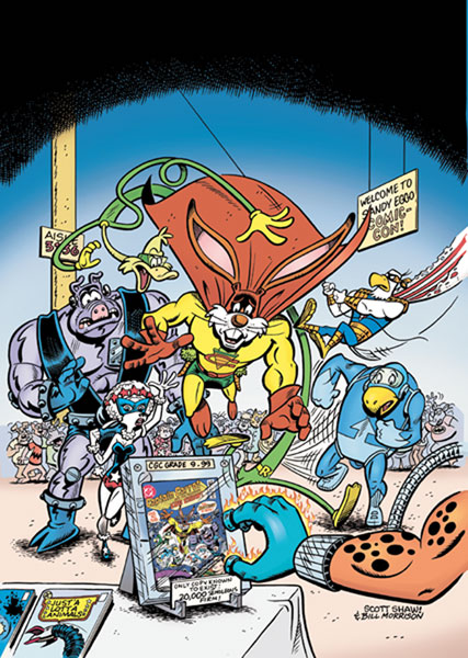 Image: Captain Carrot and the Final Ark #1 - DC Comics