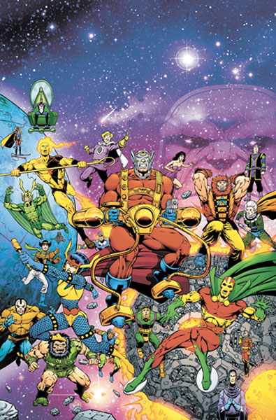 Image: Death of the New Gods #1 - DC Comics