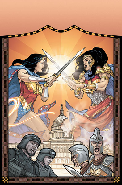 Image: Wonder Woman: Amazons Attack! HC  - DC Comics