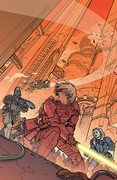 Image: Star Wars: Knights of the Old Republic #22 - Dark Horse