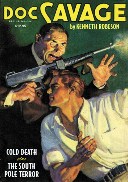 Image: Doc Savage #11: Cold Death & The South Pole Terror SC  -