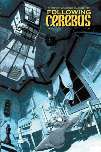 Image: Following Cerebus #11 - Aardvark-Vanaheim/Win-Mill Pro