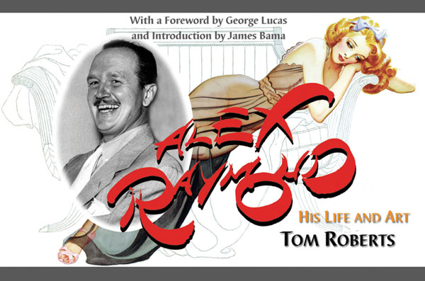 Image: Alex Raymond: His Life and Art HC  -