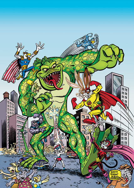 Image: Captain Carrot and the Final Ark #2 - DC Comics