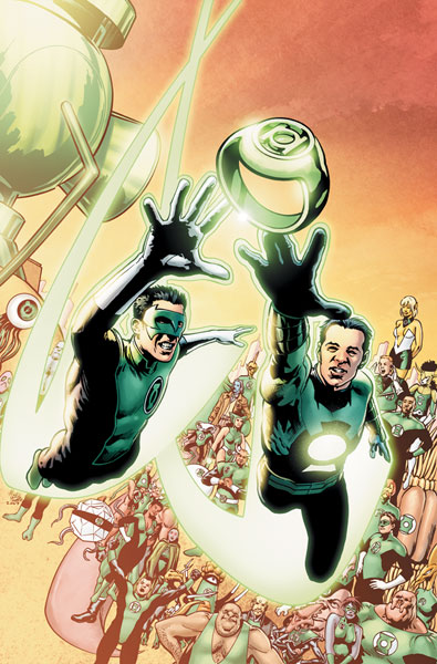 Image: Tales of the Sinestro Corps: Ion #1 - DC Comics