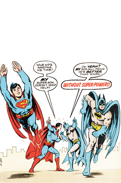 Image: Superman / Batman: Saga of the Super Sons SC  - DC Comics