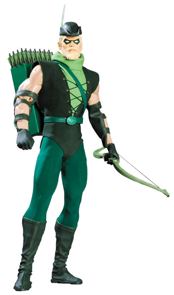 Image: Green Arrow 1:6 Scale Deluxe Collector Figure  -
