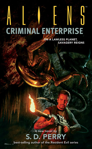Image: Aliens: Criminal Enterprise Novel PB  - Dark Horse