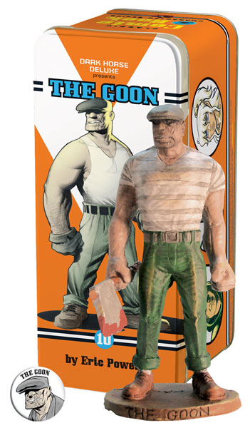Image: Classic Comic Book Characters Statue #10: The Goon  -