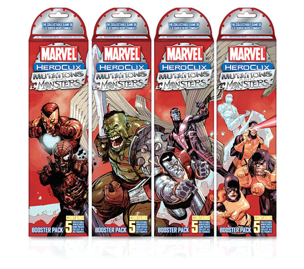 Image: Marvel Heroclix  Booster Pack: Mutations & Monsters  -