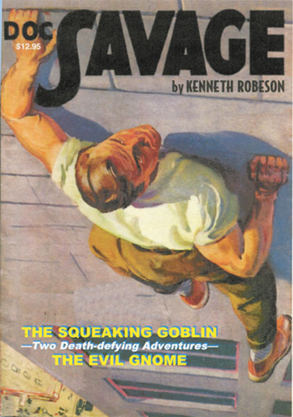 Image: Doc Savage #12: The Squeeking Goblin & The Evil Gnome SC  -
