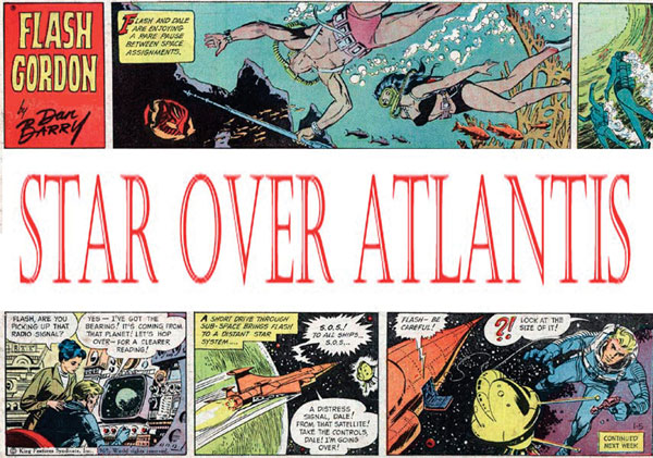 Image: Flash Gordon: Star Over Atlantis SC  -