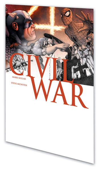 Image: Civil War Script Book SC  - Marvel Comics