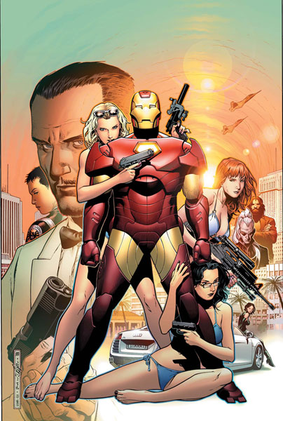 Image: Iron Man: Director of S.H.I.E.L.D. Annual #1 - Marvel Comics