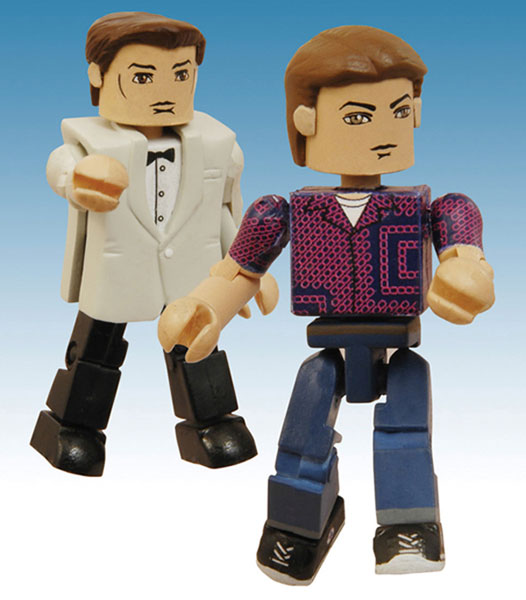 Image: Back to the Future Minimates PX 2-Pack: 1950s Marty / Prom George McFly  -