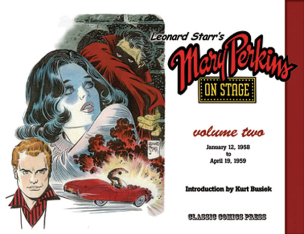 Image: Leonard Starr's Mary Perkins on Stage Vol. 02 SC  - Classic Comics Press Inc