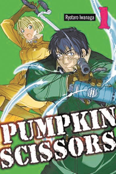 Image: Pumpkin Scissors Vol. 01 SC  - Del Rey Manga