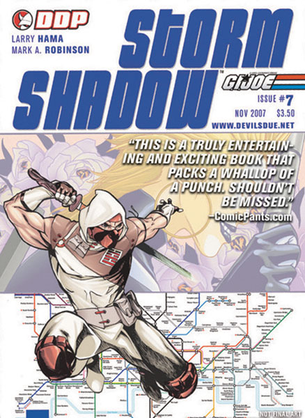 Image: G.I. Joe: Storm Shadow #7 - Devil's Due Publishing Inc