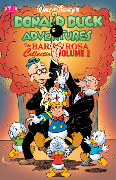 Image: Donald Duck Adventures: The Barks/Rosa Collection Vol. 02 SC  - Gemstone Publishing