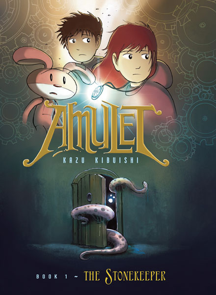 Image: Amulet Vol. 01: The Stonekeeper SC  - Graphix