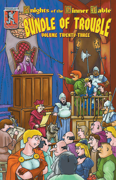 Image: Knights of the Dinner Table: Bundle of Trouble Vol. 23 SC  - Kenzer & Company