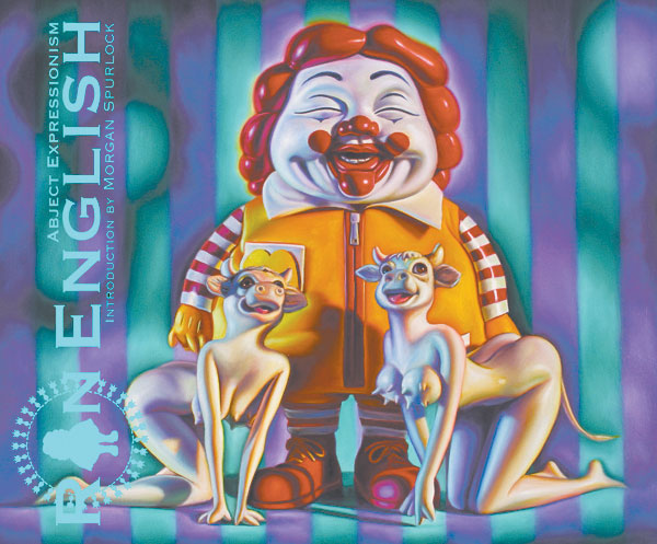 Image: Abject Expressionism: Art of Ron English HC  - Last Gasp
