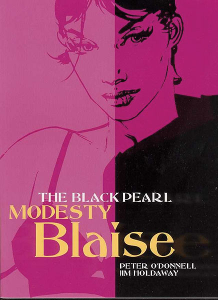 Image: Modesty Blaise Vol. 04: Black Pearl SC  (new printing) - Titan Publishing