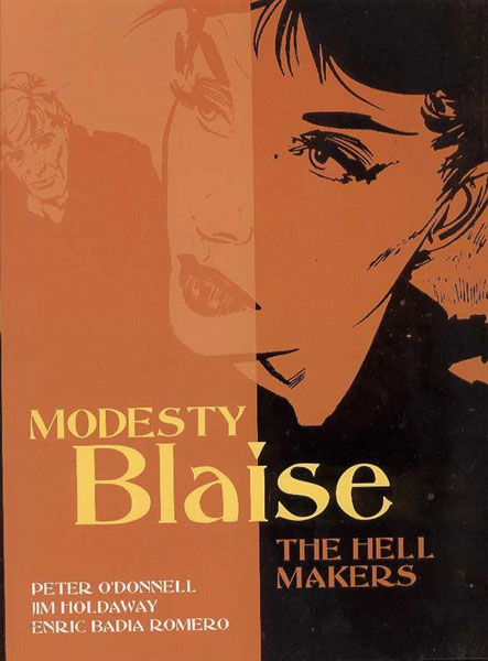Image: Modesty Blaise Vol. 06: Hell Makers SC  (new printing) - Titan Publishing