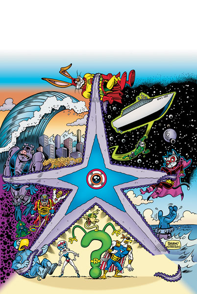 Image: Captain Carrot and the Final Ark #3 - DC Comics