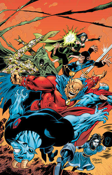 Image: Shadowpact Vol. 02: Cursed SC  - DC Comics