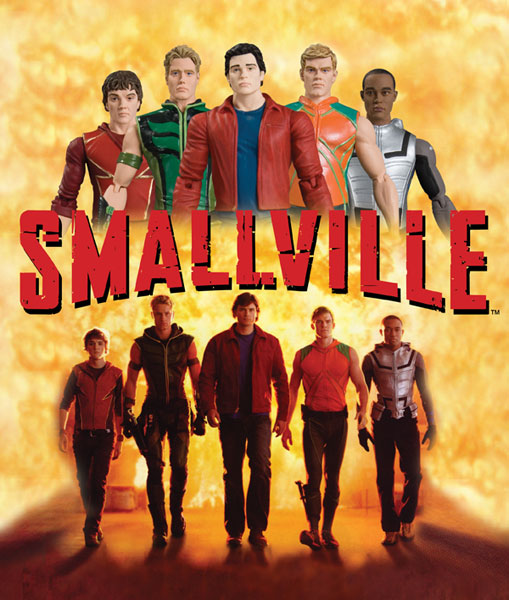 Image: Smallville Series 2 Action Figure: Aquaman  -