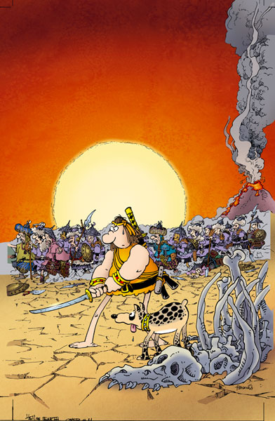 Image: Groo: Hell on Earth #4 - Dark Horse