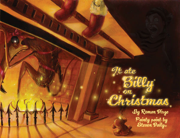 Image: It Ate Billy on Christmas HC  - Dark Horse